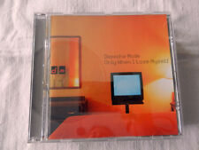 DEPECHE MODE Only When I Lose Myself CD Musicale