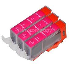 3 Tintenpatronen CANON + Chip CLI-521 M MP 620 MP 630 MP 640 NEU