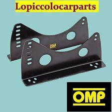 Staffe HC/733E OMP Per Sedili Con Attacchi Llaterali In Acciaio Spes. 3mm Nere