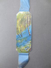 BOOKMARK Vintage Christmas Greetings BLUEBELL WOOD Farmer CROMER Norfolk OLD