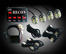 Recon 36-Watt Clear LED Strobe Light Kit - CLEAR # 26419WH