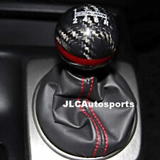 Genuine CARBON FIBER Red MUGEN shift knob for Honda CR-Z CIVIC ACCORD S2000 FA5