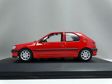 1/43 Minichamps Peugeot 306 2 Door 1995 Red 430112592