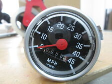 NOS VDO Sachs Puch Moped Mini Bike W= 1.6 45MPH 45 MPH Speedometer Speedo Gauge