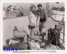 Revenge Of The Creature John Agar barechested   VINTAGE Photo John Bromfield