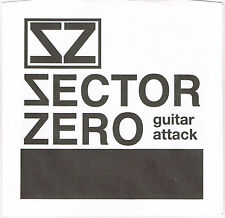 """SECTOR ZERO Guitar Attack 7"""" Reatards Jay Oblivians Goner Manatees white fence"""