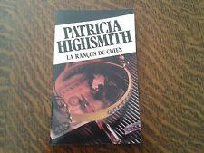 la rancon du chien - patricia highsmith