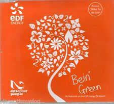 2 Different People - Bein' Green (3 track promo CD )