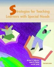 Strategies for Teaching Learners with Special Needs by James R. Patton, Ann Cas…