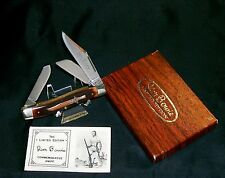Schrade Walden JB1 Knife 1975 Jim Bowie Stockman Serial #00014 W/Packaging,Paper