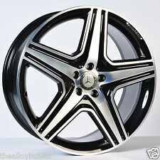 "Genuine MERCEDES ML AMG 21"" pollici ruota in lega Diamond Cut x4"