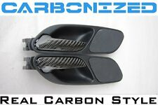 BMW E46 M3 REAL CARBON Fiber OEM Door Pulls