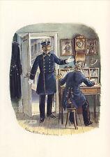 AK: Reichs-Postverwaltung, Büro- und Postamtsassistent, 1871 mit Briefmarken + T