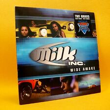 Cardsleeve Single CD MILK INC. Wide Awake 2TR 2001 eurodance