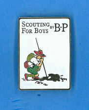 SCOUTS OF JAPAN (NIPPON) - SCOUTING FOR BOY by BADEN POWELL SCOUT SCARF WOGGLE B