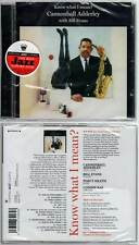 "CANNONBALL ADDERLEY ""Know What I Mean ?"" (CD) with Bill Evans 2012 NEUF"