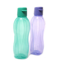 Tupperware Aquasafe Water Bottle set of 2 Eco Sports Flip Top Bottle (750 ML)