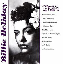 Billie Holiday 15 Track COLLECTION CD Fox Music NUOVO & OVP