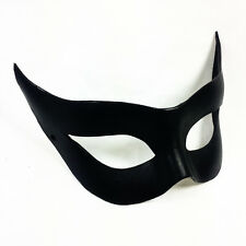 Sexy Leather Mask for Cosplay Catwoman Batgirl Black Cat BDSM Fetish Dominatrix