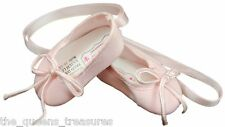 """18"""" DOLL SHOES FOR AMERICAN GIRL Clothes - Pink Ballet Slippers Dance"""
