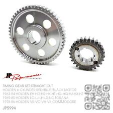 STRAIGHT CUT TIMING GEAR 6 CYL RED-BLUE-BLACK MOTOR HOLDEN VB-VC-VH-VK COMMODORE