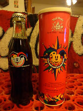 Coca Cola Bottle 1998 Tokyo, Japan Disneyland Grand Opening Bottle & Tube