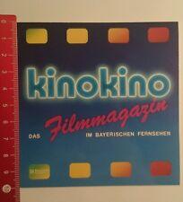 Aufkleber/Sticker: Bayerischer Rundfunk kinokino das Filmmagazin (24081650)