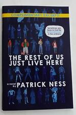 New SDCC 2015  EXCLUSIVE   Patrick Ness The Rest Of Us Just Live Here    EXCERPT