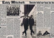 Coupure de presse Clipping 1984 Eddy Mitchell  (2 pages)