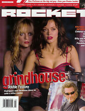 Rocket Magazine Issue 002 Grindhouse Rose McGowan Oliver Stone Spider-Man 3  NM