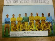 09/12/1967 Football League Review: Vol 2 No 17 - Colour Picture - Southport . Co