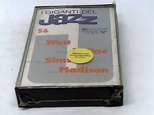 Giants of Jazz 56 - West, McRae, Sims, Madison - Cassette - SEALED