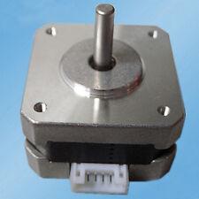 3D Printer Extruder NEMA 17 Stepper Motor 12V For CNC Reprap 36oz-in 26Ncm 0.4A