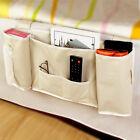 Bedside Bed Pocket Bed Organizer Hanging Bag Phone Holder Storage Bag Useful