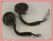 96 97 98 Acura RL RH LH Alpine Door Speakers Tweeters Taupe Moulding OEM trim