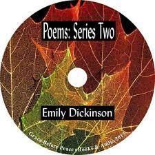 Poems: Series Two, Emily Dickinson Poetry Audiobook English unabridged 1 MP3 CD