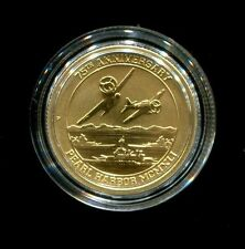 2016-P $15 Pearl Harbor Perth Mint 1/10 oz. .9999 Gold Coin Gem Mint Sealed !