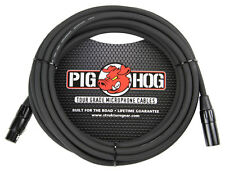 Pig Hog 8mm Mic Cable, 50' foot XLR to XLR w/ LIFETIME Warranty PHM50