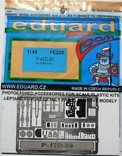 Eduard 1/48 FE226 Colour Zoom etch 4 the Tamiya P-47D-20 Thunderbolt (Razorback)
