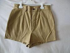 Short scout polonais beige vintage