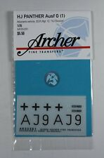 Archer 1/35 Befehls Panther Ausf.G 12th SS Panzer Division HJ Hungary 45 AR35281