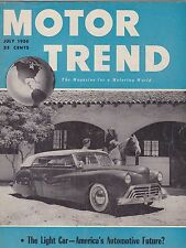 JULY 1950 MOTOR TREND car magazine