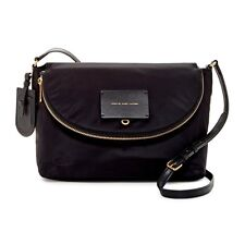 Marc by Marc Jacobs Natasha Nylon Crossbody Shoulder Bag Black NWT