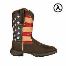 LADY REBEL BY DURANGO PATRIOTIC PULL-ON WESTERN BOOTS RD4414 - ALL SIZES (M6-11)