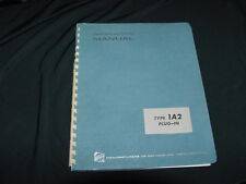 Tektronix Type 1A2 Plug-In Instruction Manual--1966