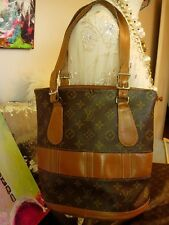 Ultra RARE Vintage LOUIS VUITTON FC Bucket PM Handbag Purse Tote Accessory Saks