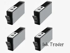 4x HP 364XL Black Compatible Printer Ink Cartridges for Deskjet 3520