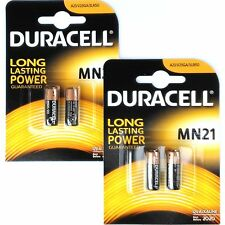 4 Pcs Duracell Duralock MN21 Battery 12V A23 MN 21 LR23A MN21B2 GP23 - 2 x 2PACK