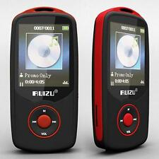 "Ruizu 1.8"" TFT Bluetooth MP3 Player TF card 4G storage Built in FM Radio Red TR"
