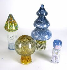 4 Vera Walther Glas Objekte / Figuren signiert signed Glass Figurines / Objects